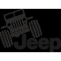 Sticker 4x4 Jeep Offroad