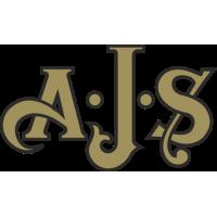 Sticker MOTO A.J.S Logo Couleur
