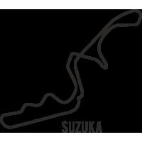 Sticker Circuit Suzuka