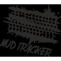 Sticker 4x4 Mud Tracker