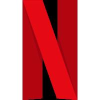 Autocollant Netflix logo