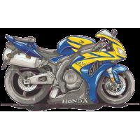 Autocollant 2022-Honda-CBR1000