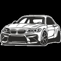 Sticker BMW Car 7