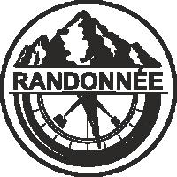 Sticker Déco Baril Randonnée