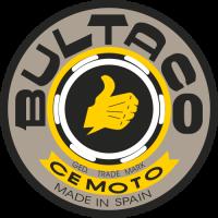 Sticker MOTO BULTACO Logo (3)