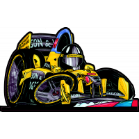 Autocollant 230_F1_McLaren_Hill