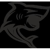 Sticker Requin 2 Bateau