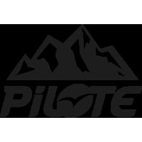 Sticker Pilote Montagne