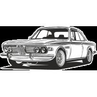 Sticker BMW Car 8