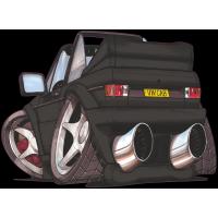 Autocollant 2432-Golf Cabrio