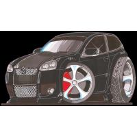 Autocollant 2535-Golf GTi