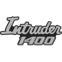 Sticker SUZUKI INTRUDER 1400 (2)