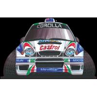 Autocollant 255-Toyota-WRC