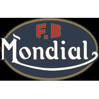 Sticker Logo Mondial