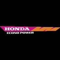 Autocollant Honda Moto Econo Power Gauche