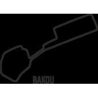 Sticker Circuit Bakou