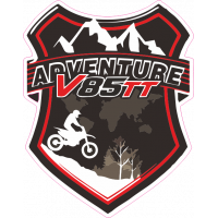 Sticker MOTO GUZZI V85 TT Blason