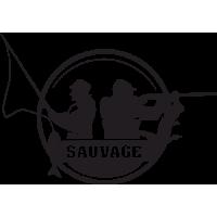 Sticker Déco Baril Chasse et Pêche