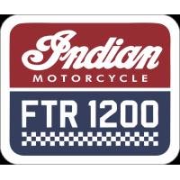 Sticker INDIAN LOGO FTR 1200