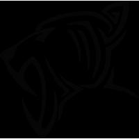 Sticker Tigre Tribal 2