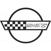 Sticker CHEVROLET COLLECTOR EDITION