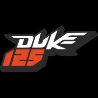 Sticker KTM 125 Duke Couleur