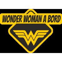 Wonder Woman à bord