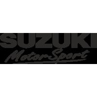 Sticker SUZUKI Motor Sport