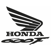 Stickers HONDA 600F DROIT