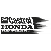 Stickers HONDA_CASTROL_GAUCHE