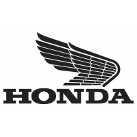 Sticker HONDA_OLD_LOGO_DROIT