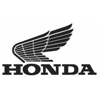 Sticker HONDA_OLD_LOGO_GAUCHE