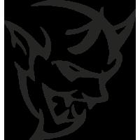 Sticker DODGE Demon