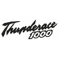 Sticker YAMAHA_THUNDERACE