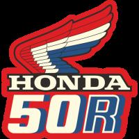 Sticker HONDA 50R VERSO