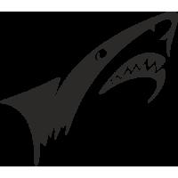 Sticker Requin 3 Bateau