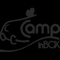 Sticker CAMP IN BOX