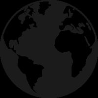 Sticker Monde Mappemonde Globe 2