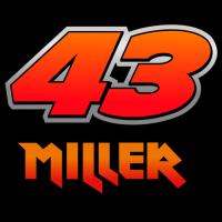 Sticker Jack Miller 43 (2)