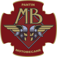 Sticker MOTO MOTOBÉCANE Logo (3)