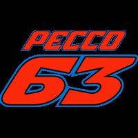 Sticker Pecco Bagnaia 63