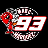 Sticker Marc Márquez 93 (2)