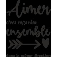 Sticker Citation Amour