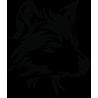Sticker Chien Tribal 3