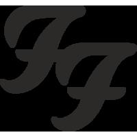 Sticker Foo Fighters 2
