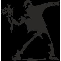 Sticker Banksy