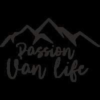 Sticker Passion Van Life