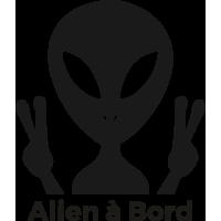 Sticker Alien à Bord