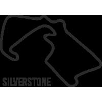 Sticker Circuit Silverstone