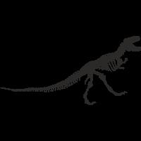 Sticker Dinosaure Squelette